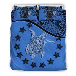 Cook Islands Bedding Set Blue A24