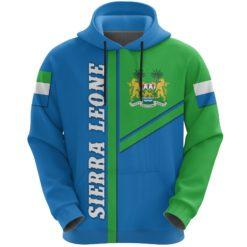 Sierra Leone Hoodie Streetwear Style K4