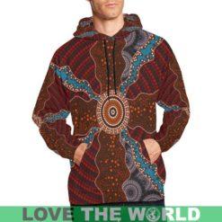 1stTheWorld Australia Aboriginal All Over Print Hoodie 06 TH7