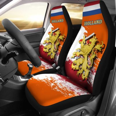 (Holland) Netherlands Lion Special Car Seat Covers (Set of Two) A7