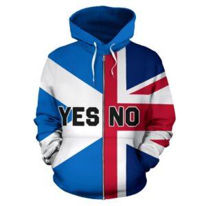 Scotland Zip Hoodie Scottish Independence K4
