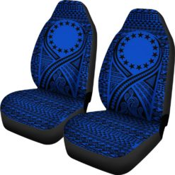 Cook Islands Car Seat Cover Lift Up Blue - BN09