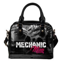 Mechanic Mom Shoulder Handbag