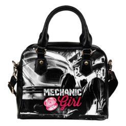 Mechanic Girl Shoulder Handbag